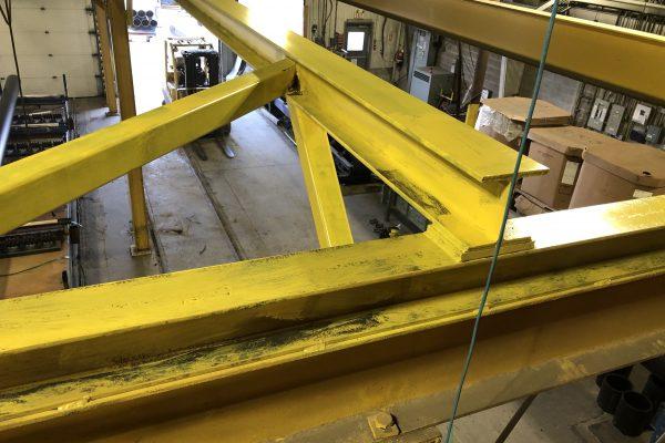 Monorail Cranes Structure Retrofit